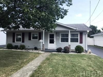 Findlay OH Single Family Home For Sale: $78,900