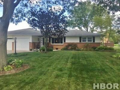 Findlay OH Single Family Home For Sale: $192,900