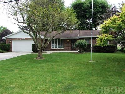 Fostoria Single Family Home For Sale: 1075 Columbus