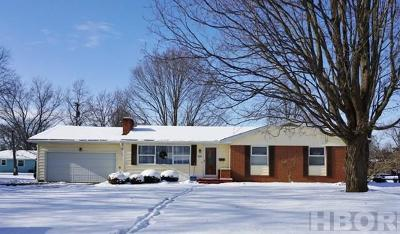 Findlay Single Family Home For Sale: 116 Mohican Rd