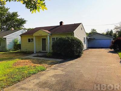 Fostoria Single Family Home For Sale: 755 Circle Dr.