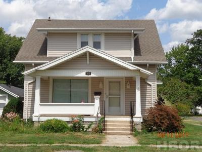Findlay Single Family Home For Sale: 424 3rd St