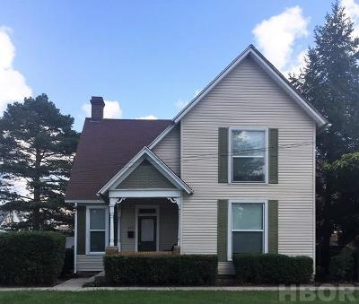 Findlay Single Family Home For Sale: 615 S West St