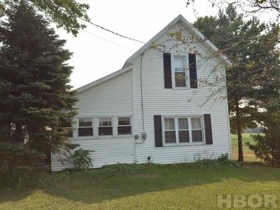 Carey OH Single Family Home For Sale: $109,900