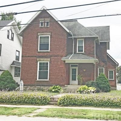 Fostoria Single Family Home For Sale: 319 Columbus Ave
