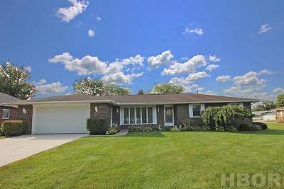 Fostoria Single Family Home For Sale: 14 Christopher Dr.