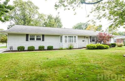 Findlay Single Family Home For Sale: 631 Lincolnshire Ln