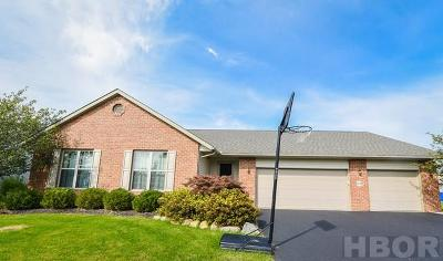 Findlay Single Family Home For Sale: 1110 Homestead Dr