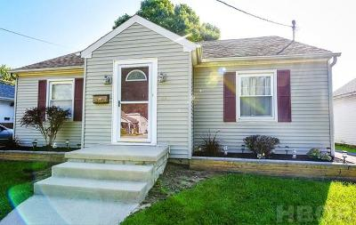Findlay Single Family Home For Sale: 623 Central Ave