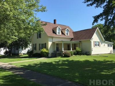 Fostoria Single Family Home For Sale: 612 Cherry