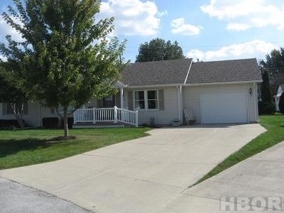 Fostoria Condo/Townhouse For Sale: 803 Oak Park