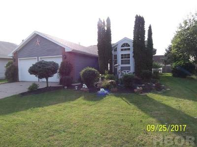 Findlay OH Single Family Home For Sale: $169,000