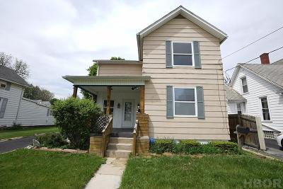 Findlay OH Single Family Home For Sale: $79,999