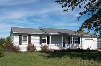 Carey OH Single Family Home For Sale: $92,500
