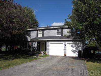 Findlay OH Single Family Home For Sale: $168,900