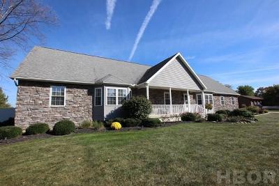 Fostoria Single Family Home For Sale: 3400 Stuart Drive