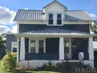Arcadia OH Single Family Home For Sale: $104,900