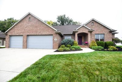 Findlay OH Single Family Home For Sale: $319,900