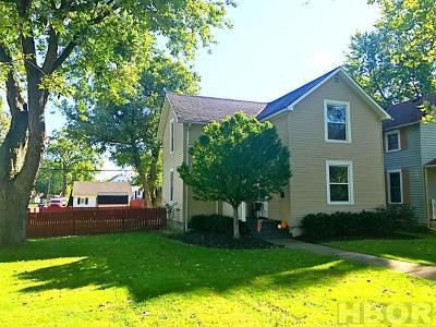 Tiffin Single Family Home For Sale: 450 N. Washington