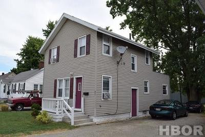 Fostoria Single Family Home For Sale: 406 N. Town Street