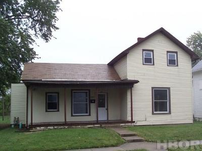 Fostoria Single Family Home For Sale: 522 N Poplar St