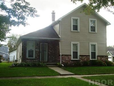 Fostoria OH Single Family Home For Sale: $68,000