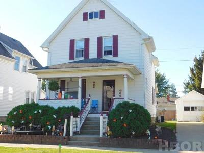 Tiffin Single Family Home For Sale: 175 Hall St
