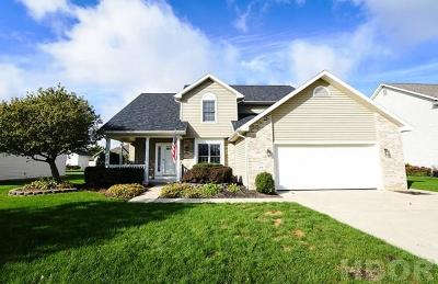 Findlay Single Family Home For Sale: 414 Nevada Ln