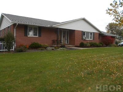 Findlay Single Family Home For Sale: 6746 State Rt 12