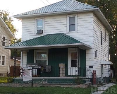 Single Family Home For Sale: 119 S. Vine St