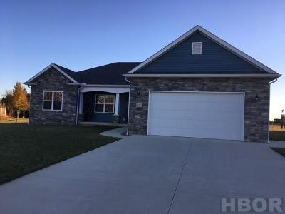 Benton Ridge, Findlay, Rawson, Mount Cory, Mt Cory, Mccomb Single Family Home For Sale: 9127 Nancy Ln