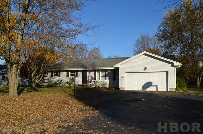Findlay OH Single Family Home For Sale: $219,900