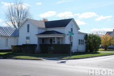 Findlay OH Single Family Home For Sale: $56,900