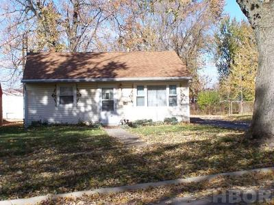Findlay OH Single Family Home For Sale: $68,000