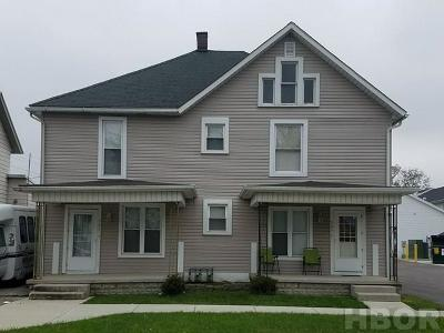 Findlay OH Multi Family Home For Sale: $104,900