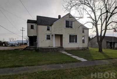 Jenera OH Single Family Home For Sale: $94,900