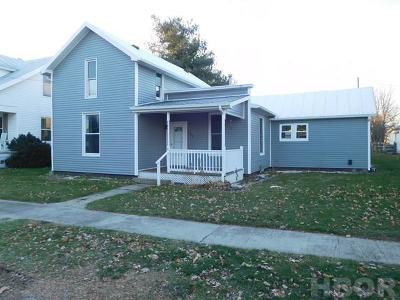 Mt Blanchard Single Family Home For Sale: 204 E Clay