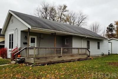 Findlay OH Single Family Home For Sale: $87,900