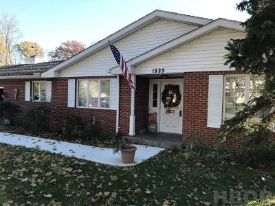 Findlay Single Family Home For Sale: 1825 Greendale Ave