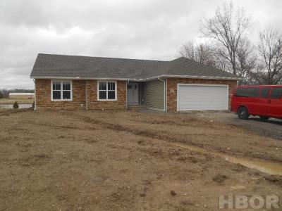 Van Buren OH Single Family Home For Sale: $247,500