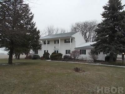Findlay Single Family Home For Sale: 13014 Township Rd 215