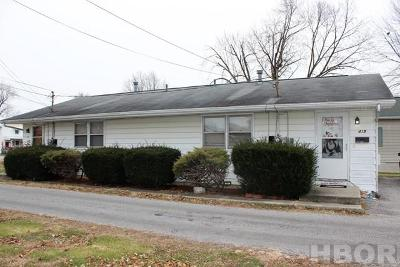 Findlay OH Multi Family Home For Sale: $109,500