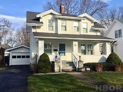 Findlay OH Single Family Home For Sale: $199,900