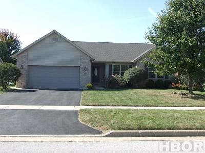 Findlay Single Family Home For Sale: 292 E Winter Woods