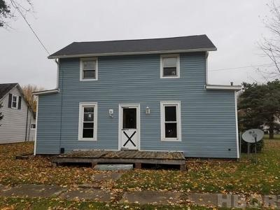 Single Family Home For Sale: 216 Cook St