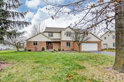 Findlay Single Family Home For Sale: 3124 Saddlebrook Dr