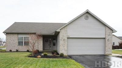Findlay Single Family Home For Sale: 301 Winter Pine Dr