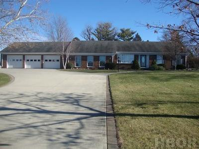 Fostoria OH Single Family Home For Sale: $225,000