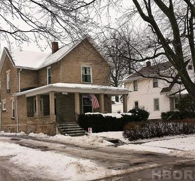 Fostoria Single Family Home For Sale: 933 Walnut
