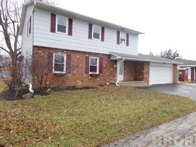 Findlay OH Single Family Home For Sale: $169,500